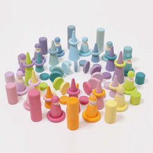 Load image into Gallery viewer, GRIMM'S Stacking Game Small Pastel Rollers