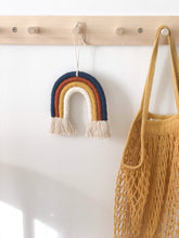 Load image into Gallery viewer, Macrame Rainbow, Navy