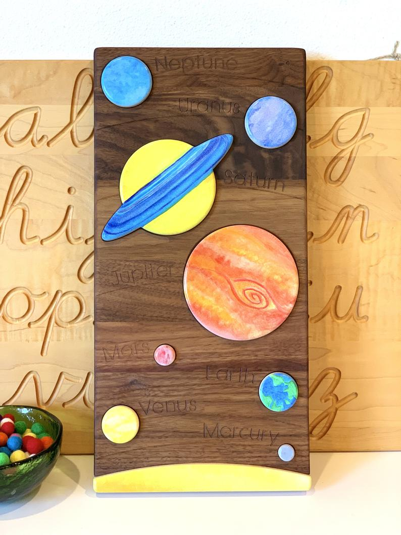 TREASURES FROM JENNIFER Solar System Puzzle – Noah's Toys