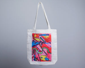 twopluso X JOURNEY Tote Bag