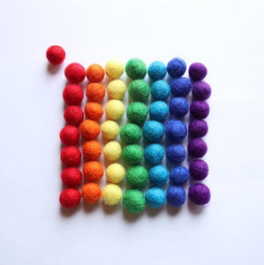 TREASURES FROM JENNIFER Small Wool Balls