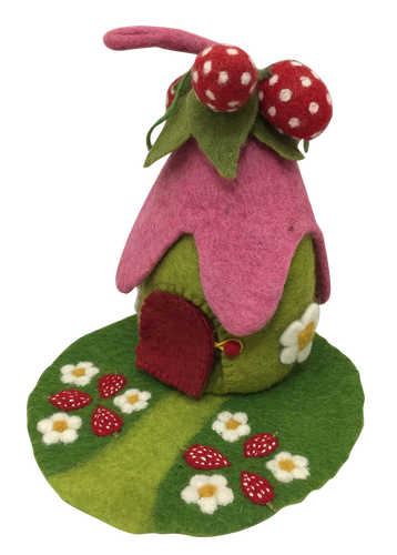 PAPOOSE TOYS Strawberry House & Mat