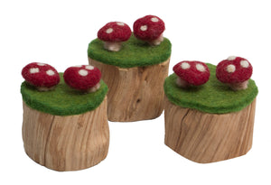 PAPOOSE TOYS Toadstool Trunks Set of 3