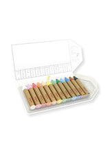 Load image into Gallery viewer, KITPAS Jumbo Crayons, 12 Colours