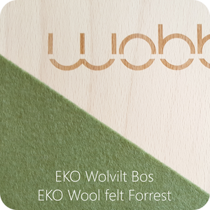 WOBBEL Original with Felt Forest