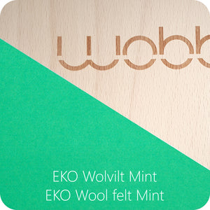 WOBBEL Original with Felt Mint