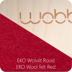 WOBBEL Original with Felt (Preorder Colour Options)