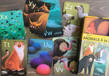 Load image into Gallery viewer, TINY WORLDS Animals A to Z Cards