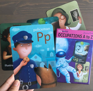 TINY WORLDS Occupations A to Z Cards