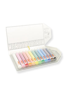 KITPAS Holder Crayons, 12 Colours