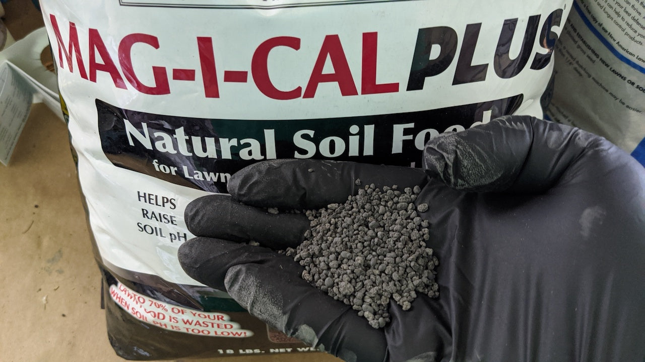 raise soil ph for lawns