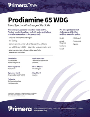 Prodiamine 65 WDG (brand alternative - Barricade® 65WDG)