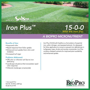 Iron Plus (15-0-0-6) with SeaXtra