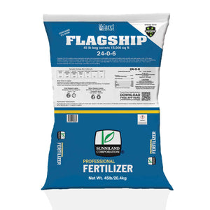 24-0-6 Flagship (with 3% Iron) and Bio-Nite™ - Granular Lawn Fertilizer