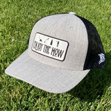 Enjoy The Mow - Curved Bill SnapBack Hat