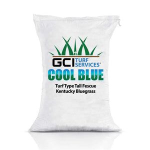 GCI Turf Cool Blue Turf Type Tall Fescue/Kentucky Bluegrass Grass Seed