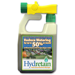 Hydretain Quart with Hose-End Sprayer