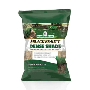 Black Beauty® Dense Shade Grass Seed - Jonathan Green