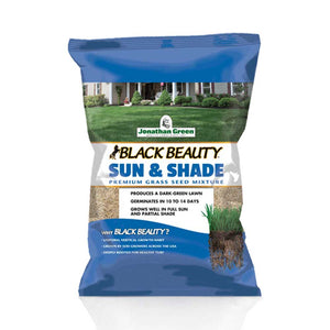 Black Beauty® Sun & Shade Grass Seed - Jonathan Green