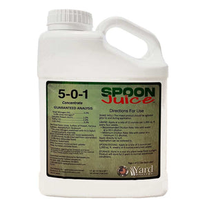 Spoon Juice 5-0-1 Liquid Fertilizer and Bio Stimulant with Humic Acid and Kelp