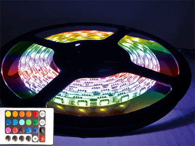 Kit Ruban Led RGB complet 5m