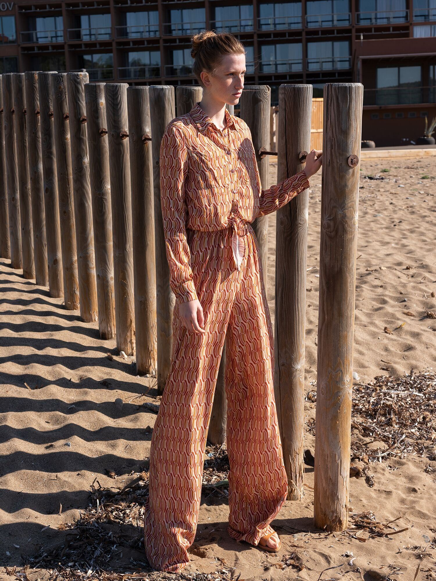 Print Jumpsuit | Sunset