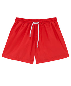 Mens Red Swim Shorts