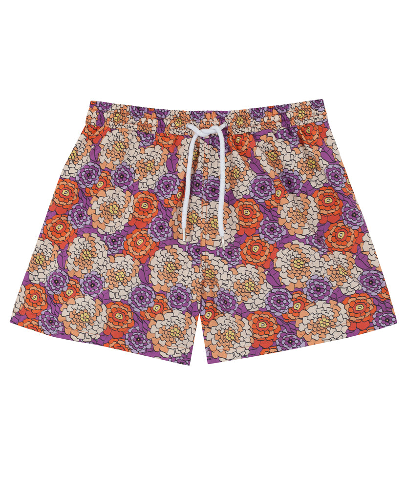 Mens Mosaic Swim Shorts