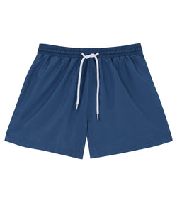 Mens Blue Swim Shorts