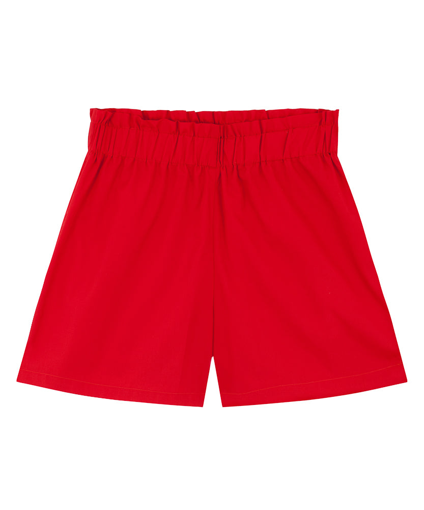 Cotton Shorts | Red