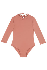 Kelia Long-Sleeve One-Piece