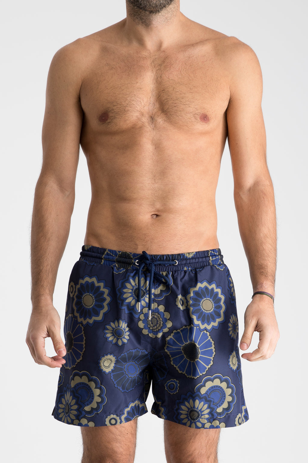 Men's Swim Shorts | Navy Floral & Khaki Floral