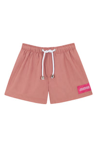 Kids Swim Shorts | Dusted Pink