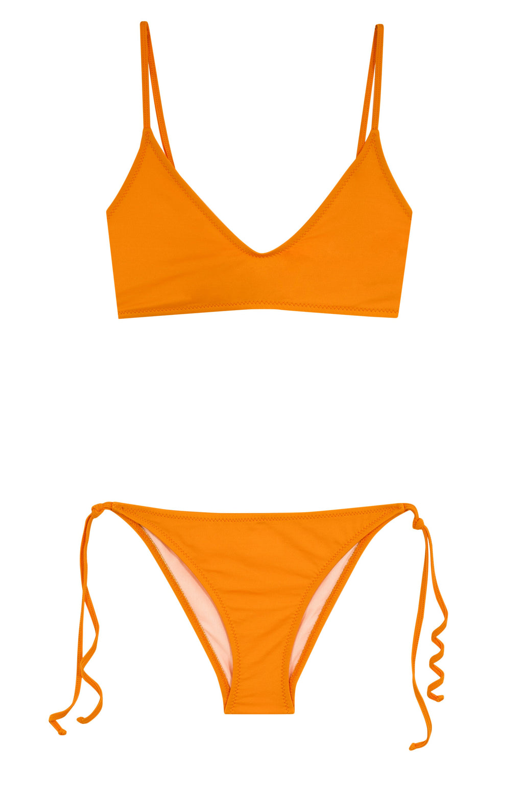 Elsa Triangle Bikini | Orange