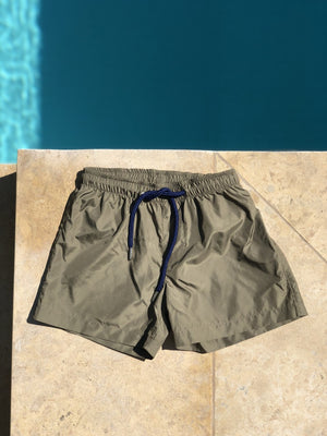 Kids Swim Shorts | Khaki