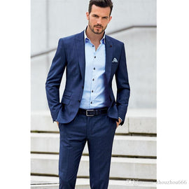 2018 Blue Formal Suit