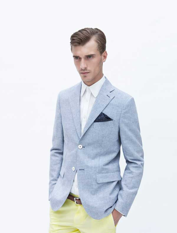 2018 Blue Suit for Men