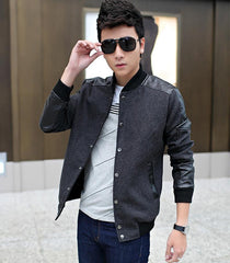 2018-new-jacket-men-leather-jacket-collar