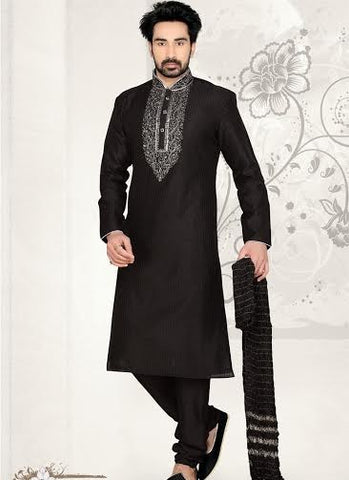 Wonderful Black Sherwani