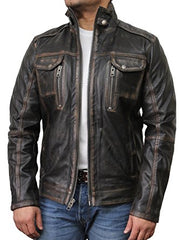 Amazing Leather Motorcycle Jacket