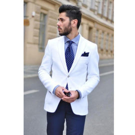 Amazing white suit for men
