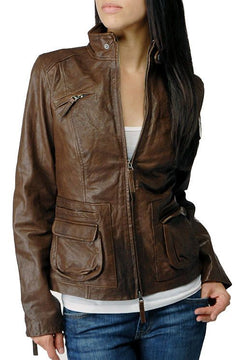 Autumn Astonishing Leather Jackets for Women