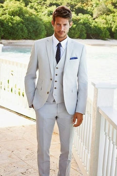 Autumn White Suit for men