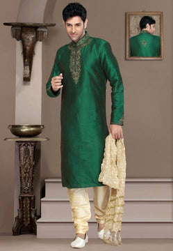 Awesome Green Sherwani