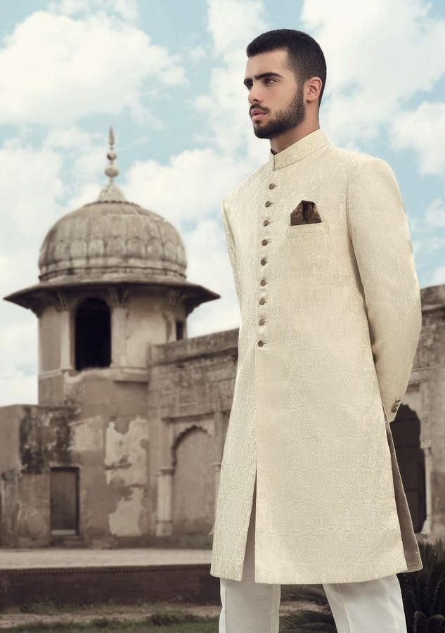 Awesome White Sherwani For Men