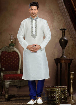 Awesome White Sizzling  Sherwani