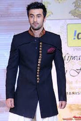 Awesome black sherwani