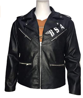 BSA Faith George Michael Leather Jacket