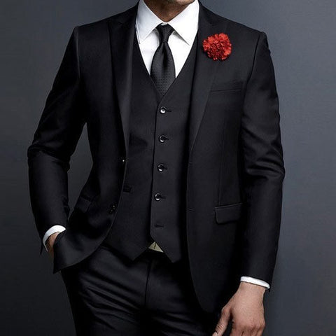 Cool Black Suit for men