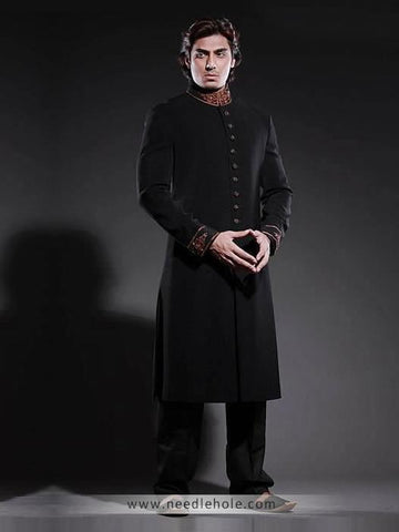 Smart and Beautiful Pakistani Sherwani
